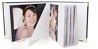 Traditional Wedding album from Dorset Photographers